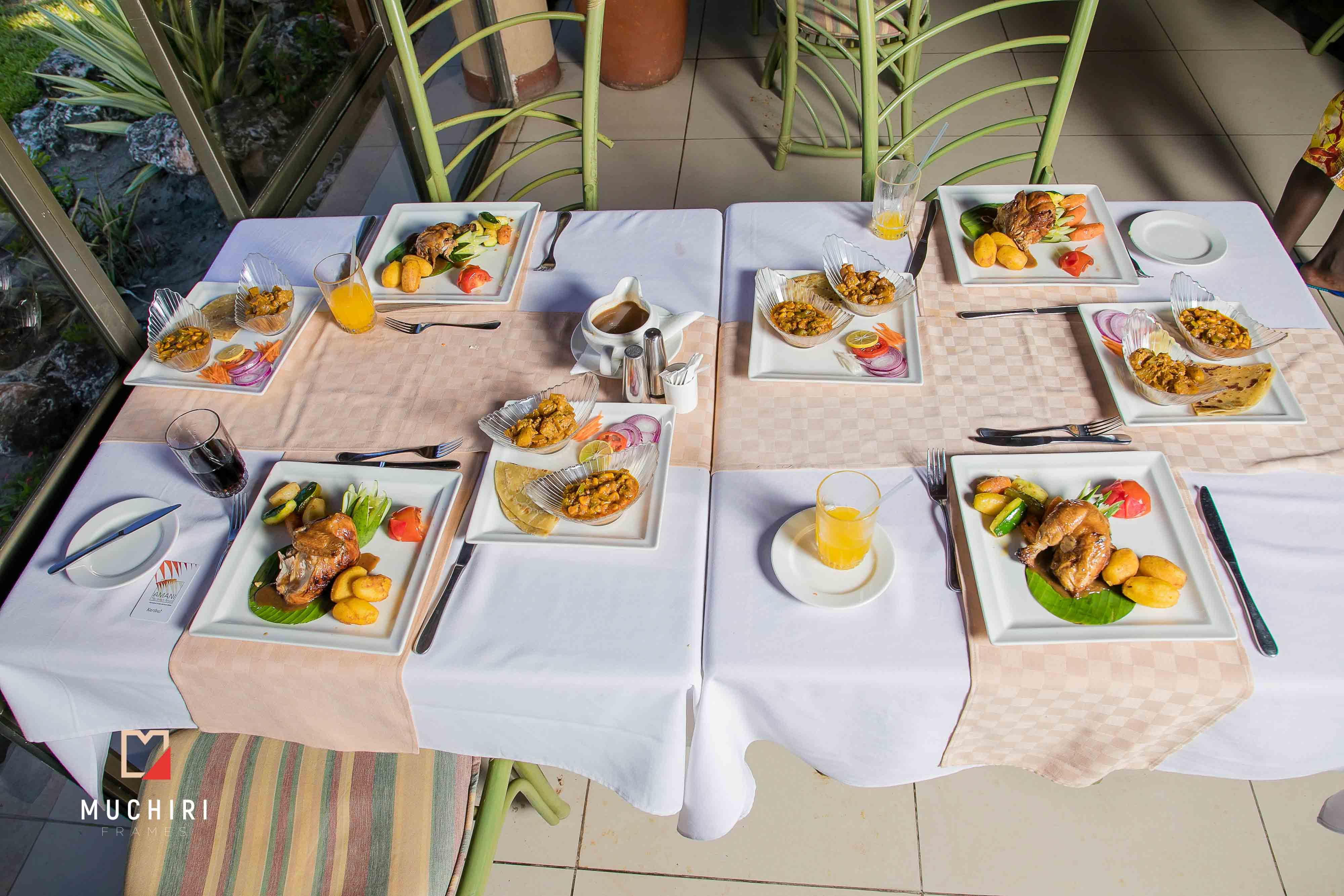 Beautiful and delicious sea food